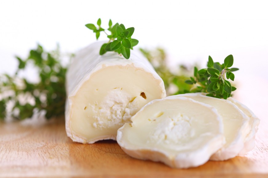 Herbed Baked Goat Cheese