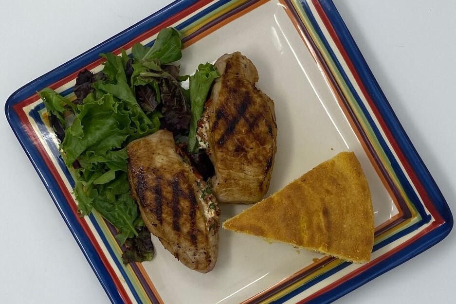 Family Style with Jimmy & June Kennedy: Grilled Stuffed Pork Chops