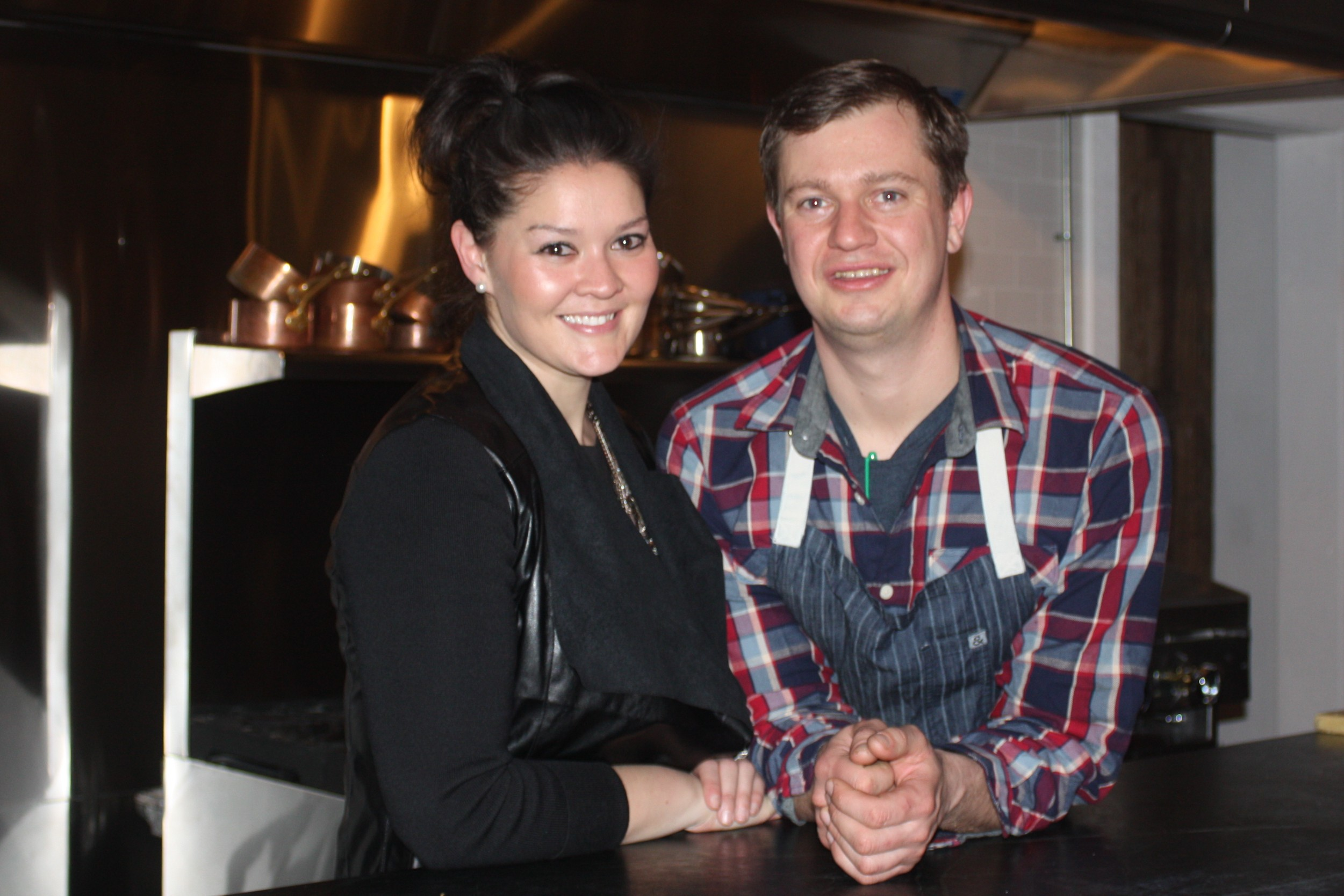 Chef/Owner Kevin Lasko (right), The Backroom