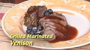 Grilled Marinated Venison