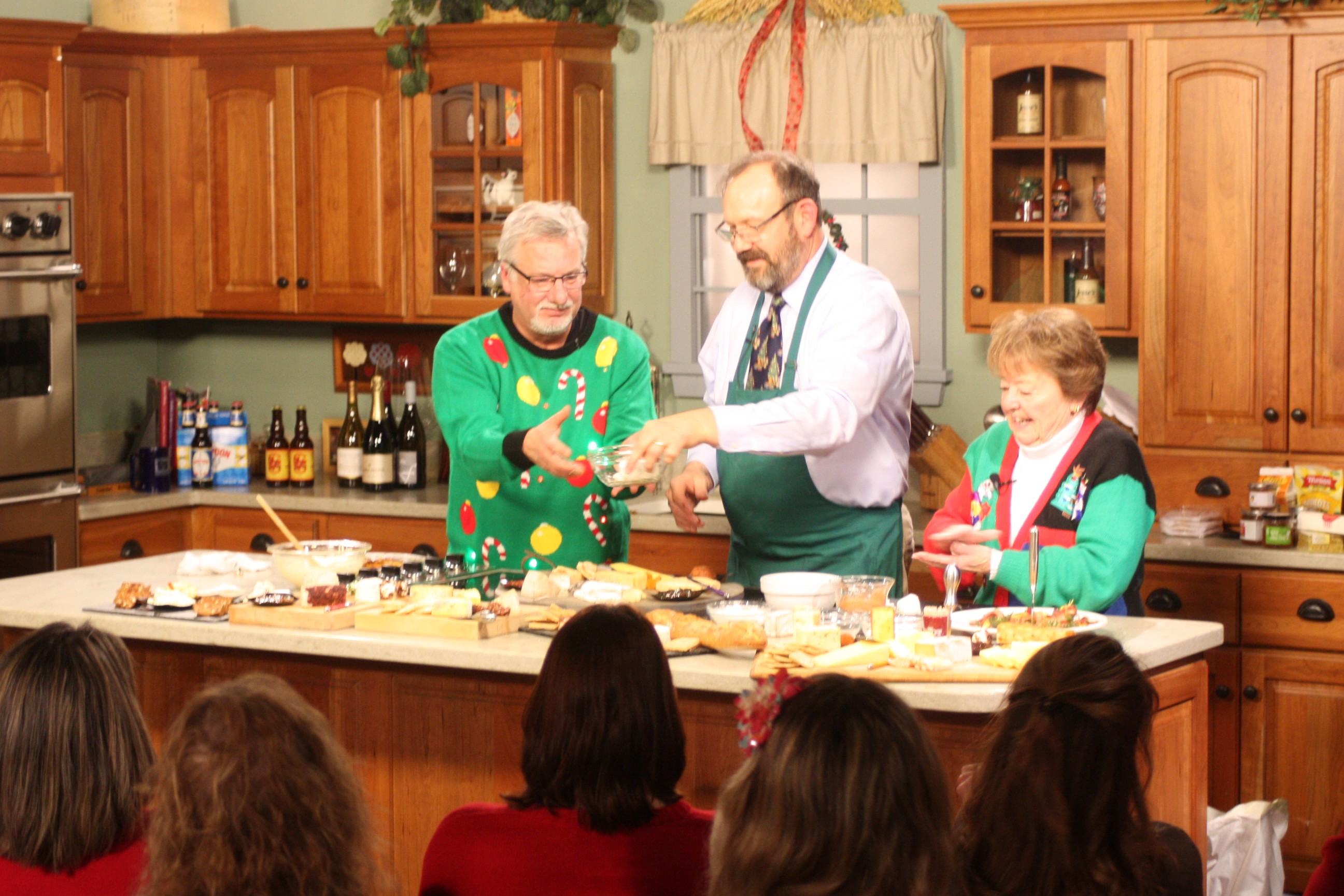 Chef Tom Bivins - Ugly Christmas Sweaters Special