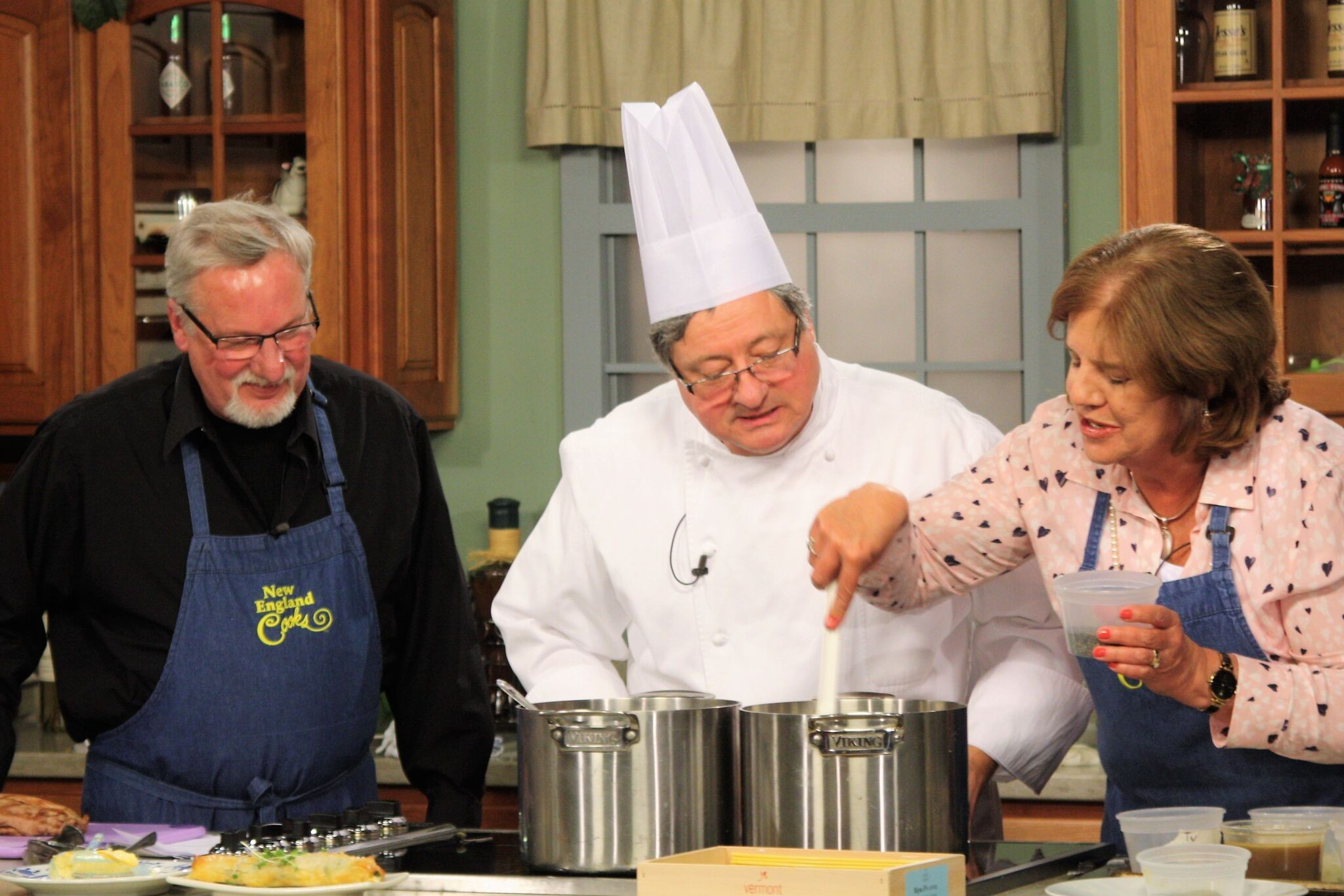 Chef Jean-Louis Guerin, New England Culinary Institute