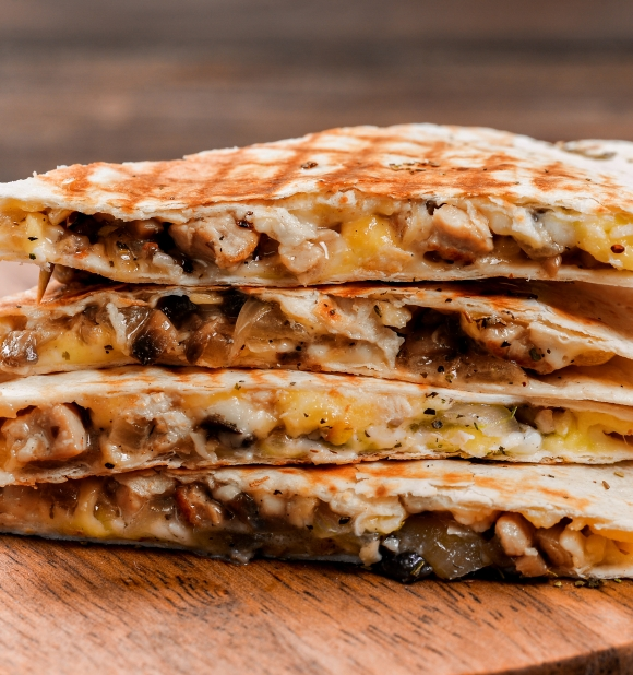 Peking Duck Quesadilla