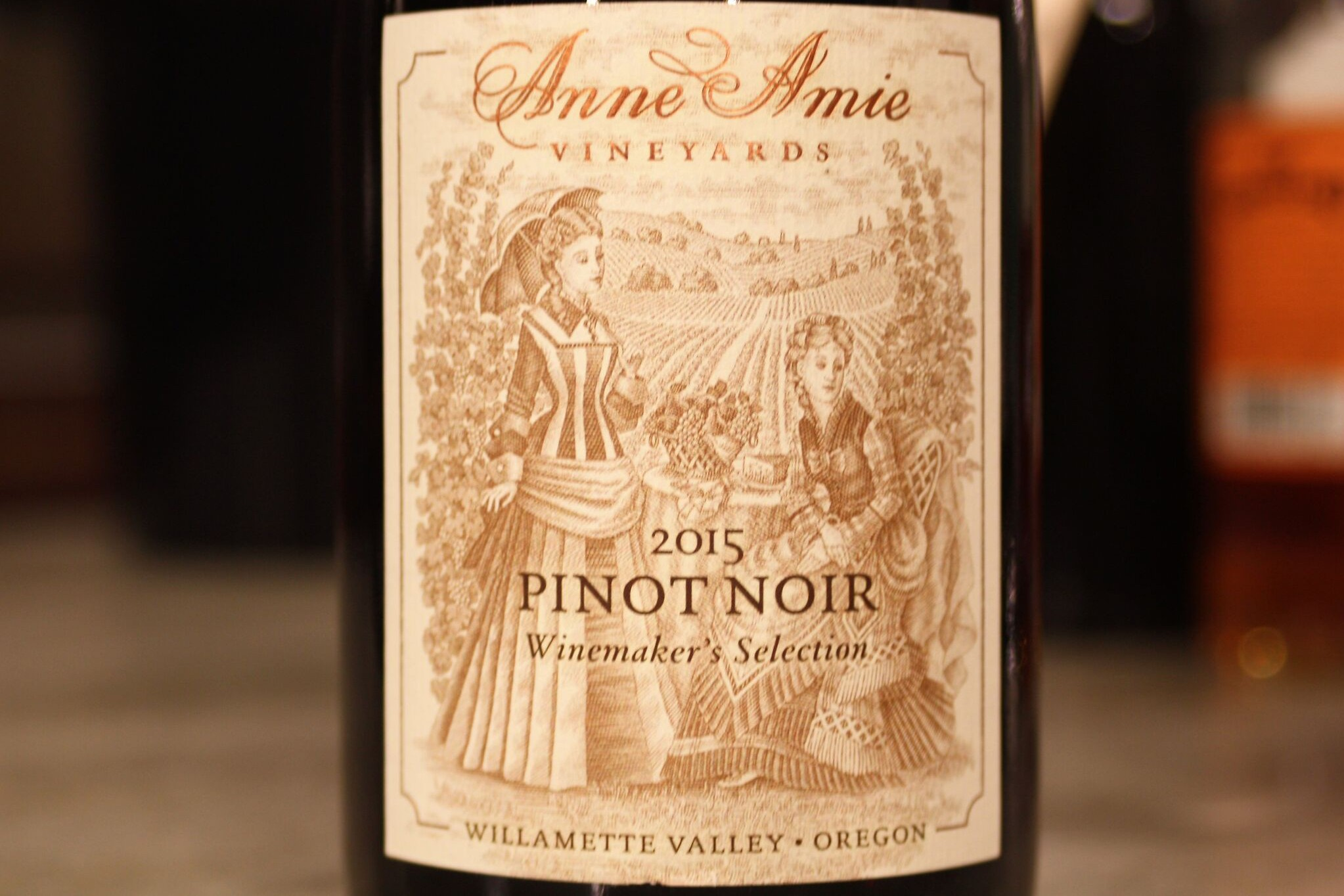 Anne Amie, Willamette Valley Pinot Noir (2015)