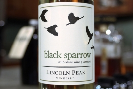 Lincoln Peak Vineyard, Black Sparrow (2016)