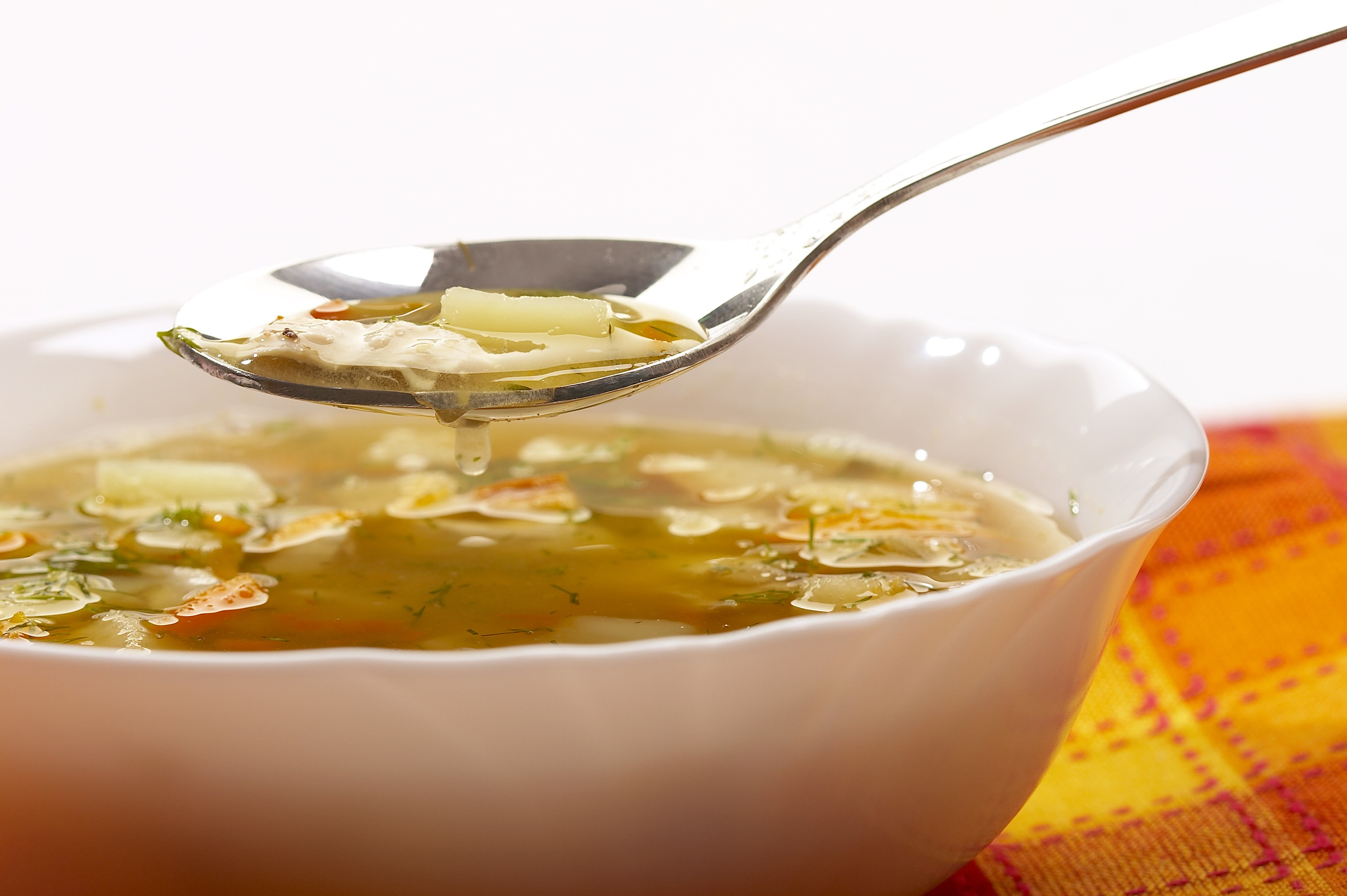 20-Minute Vegetable Soup