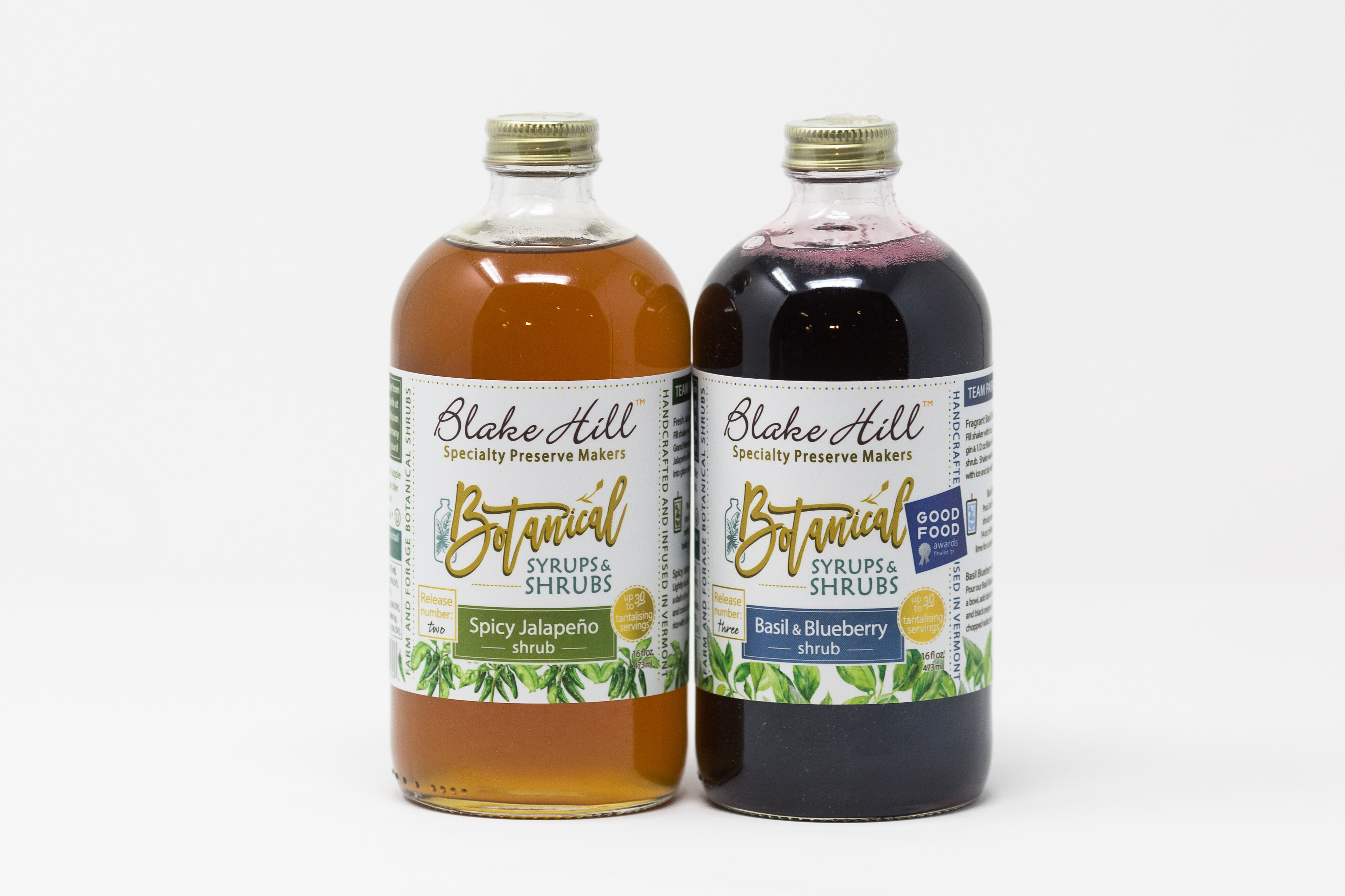 Blake Hill Preserves, Shrubs perfect for pairing with La Marca, Prosecco or Saratoga Spring Water, Sparkling Spring Water