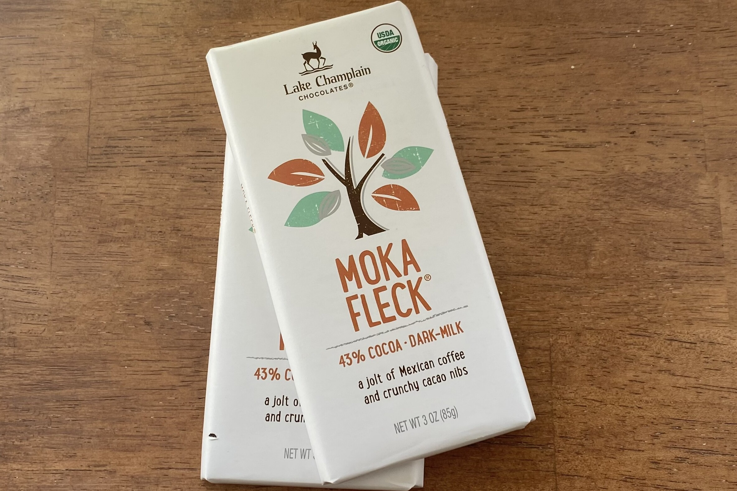 Moka Fleck Bar & Caramel Filled Milk Chocolate Bar Paired with Apothic  Dark & Eden Heirloom Ice Cider