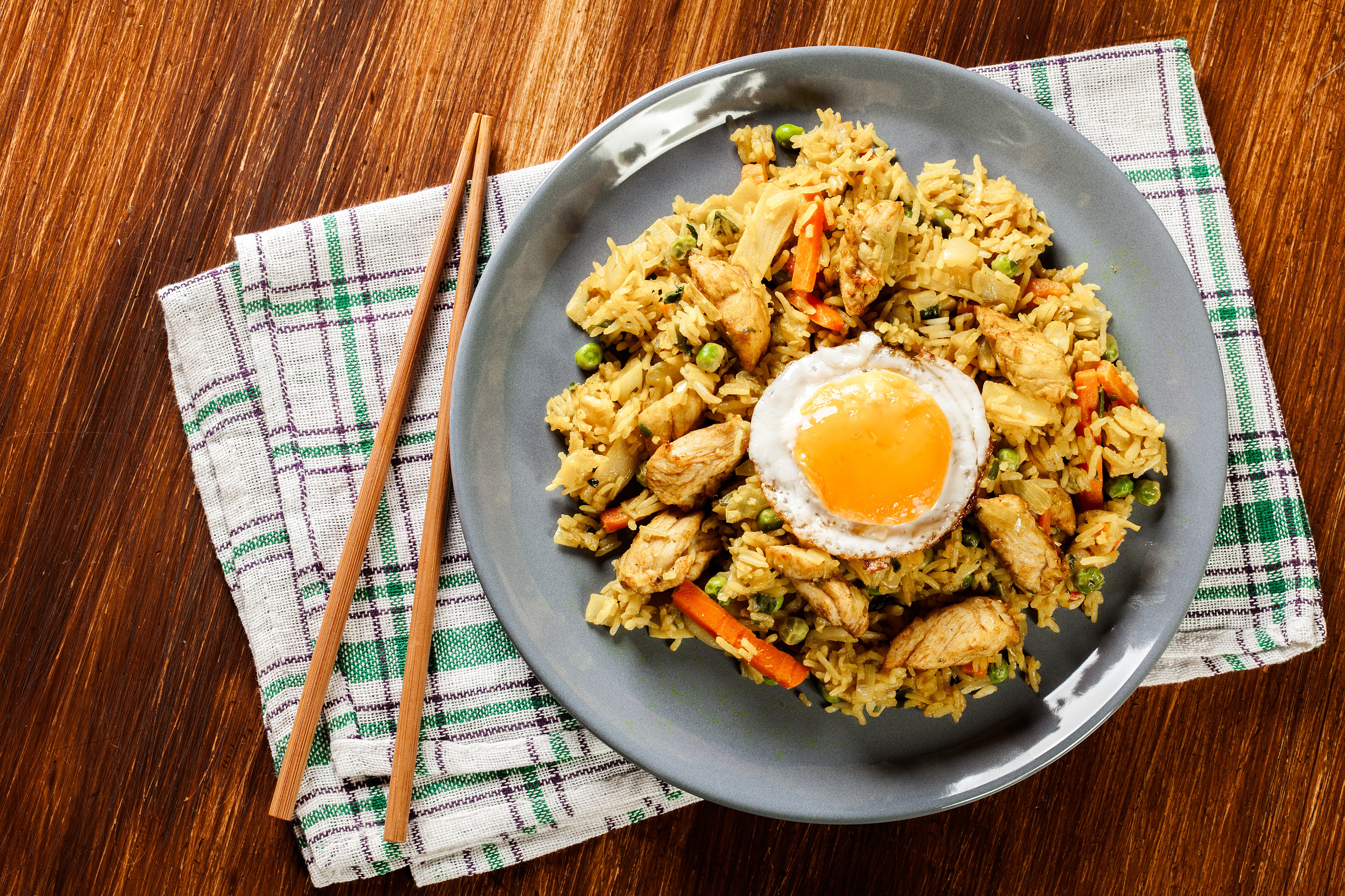 Nasi Goreng (Indonesian Spin on Fried Rice)