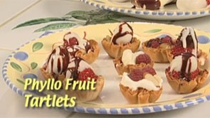Phyllo Fruit Tartlets