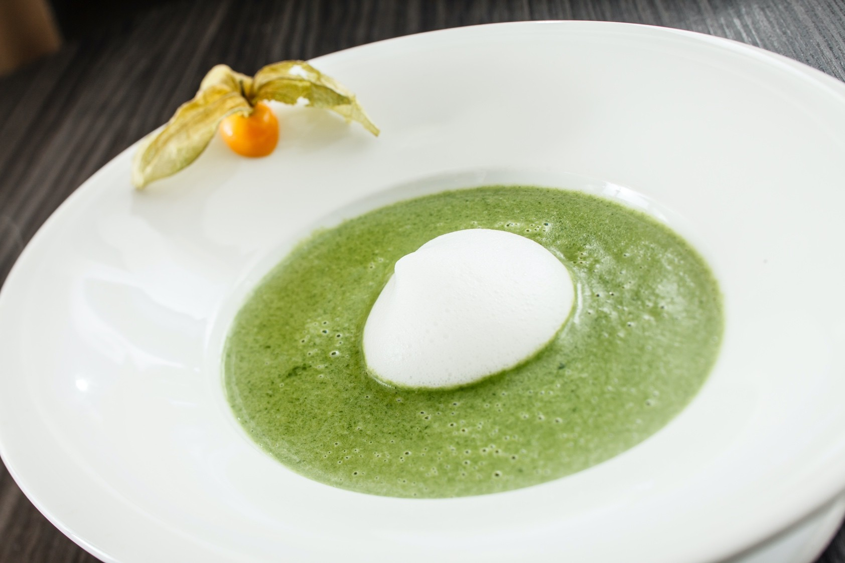 Spinach Lemon Soup