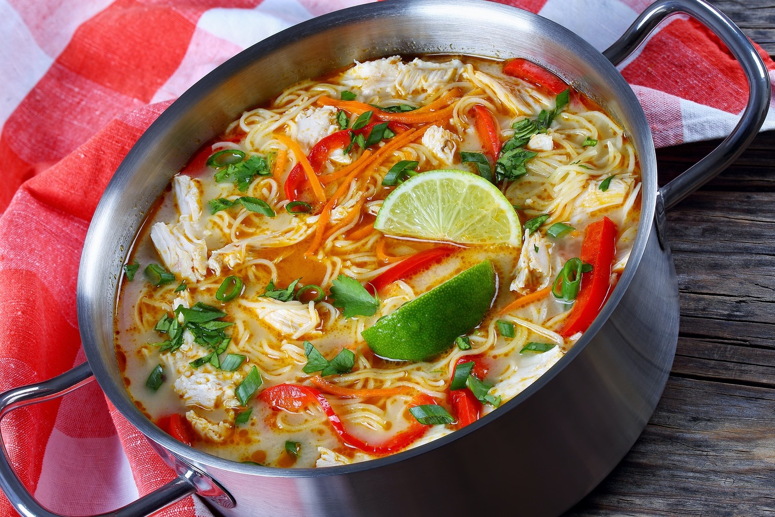 Thai Chicken Vegetable Soup