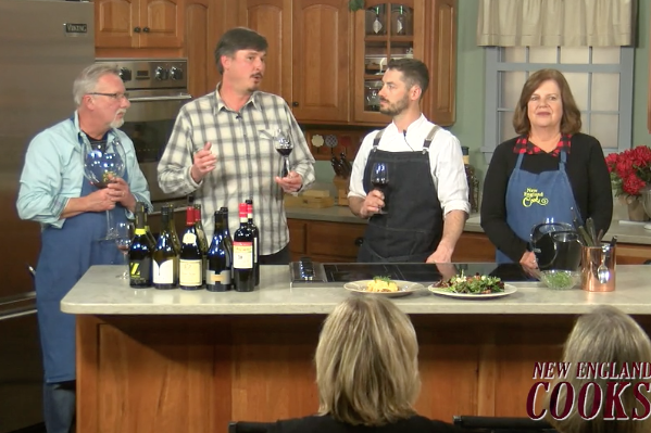 New England Cooks with Sandy & Tony and special guest Chef Aaron Martin - Wine Segment