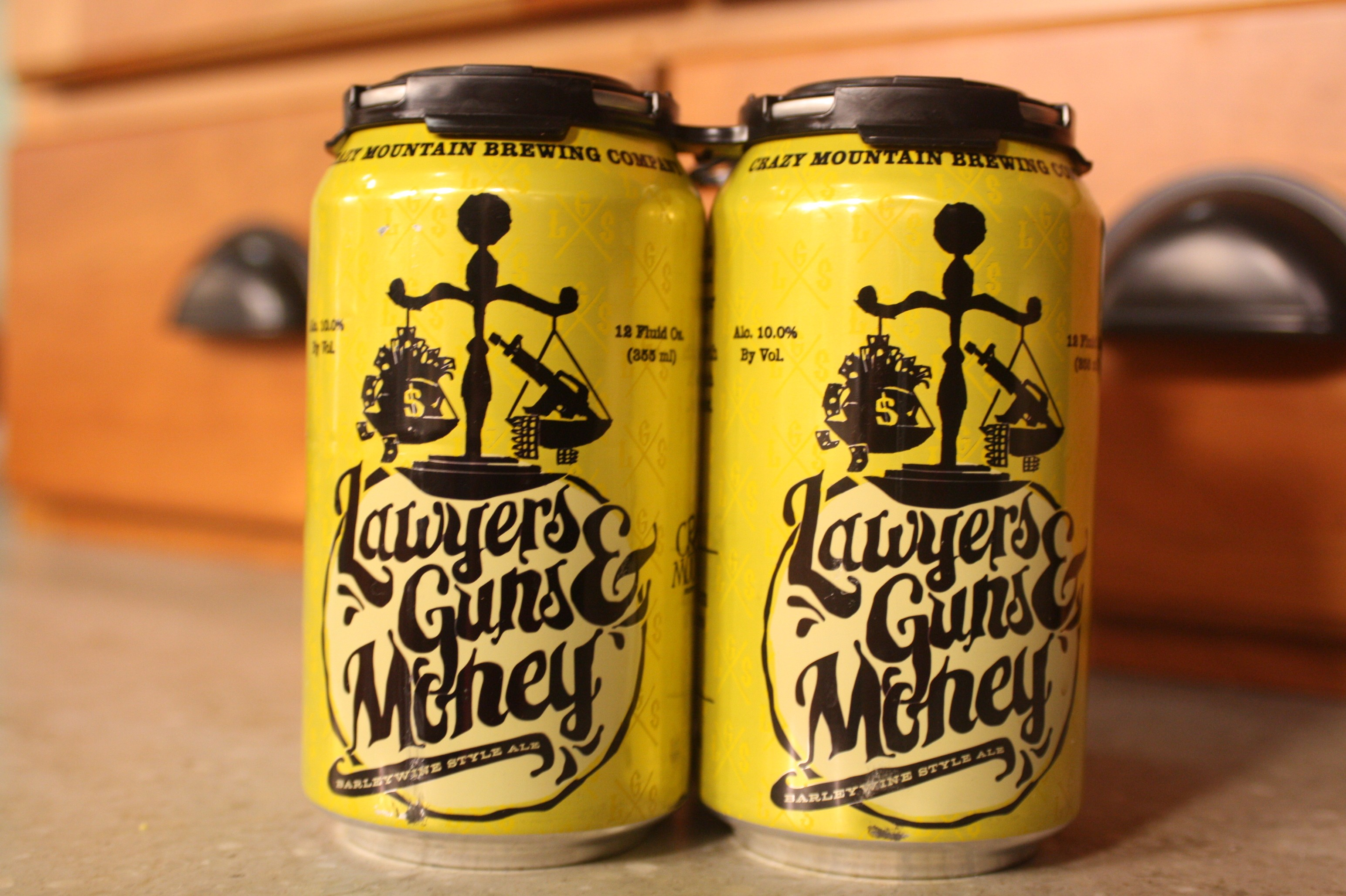 Cazy Mountain Brewing Lawyers Guns  Money