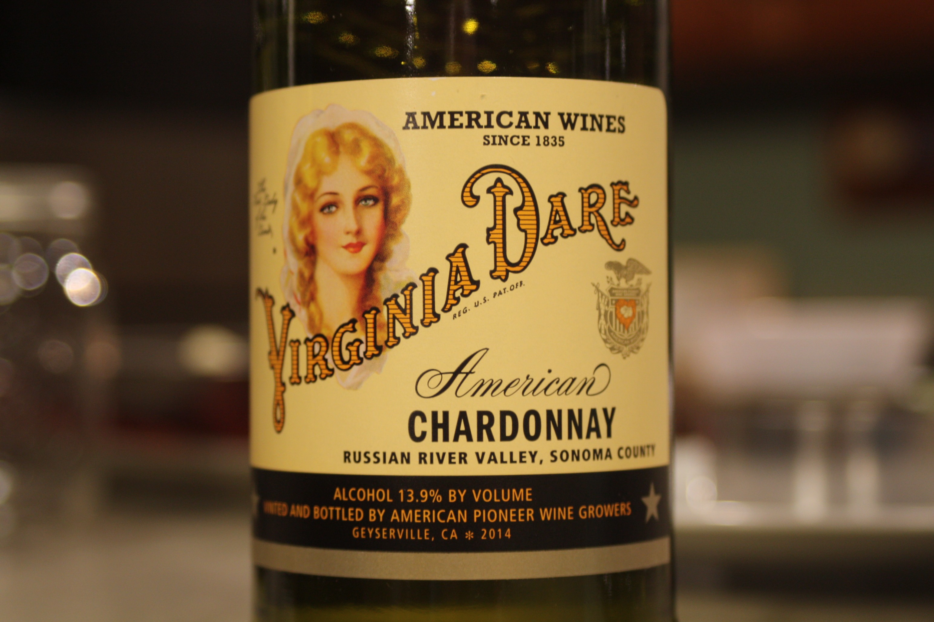 Virginia Dare Russian River Valley Chardonnay 2014
